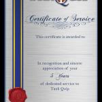 TankQuip - Service Certificates