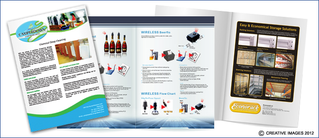 Brochures designed by Creative Images